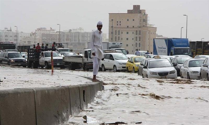 At least 12 people killed as floods wreak havoc in Saudi Arabia