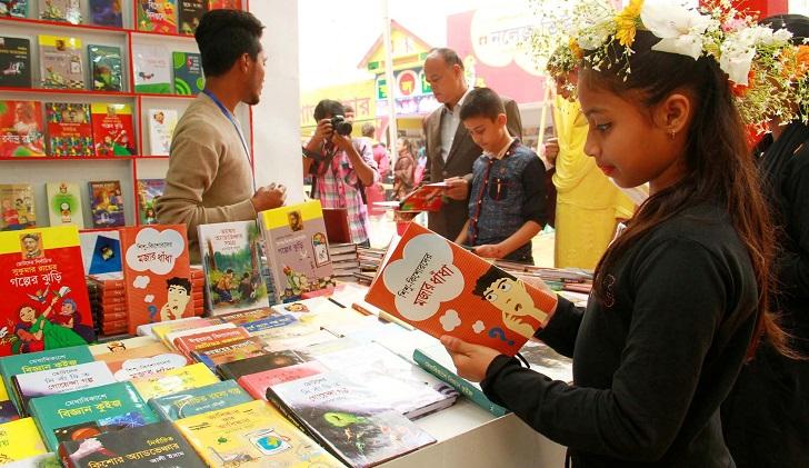 Month-long Ekushey Book Fair begins