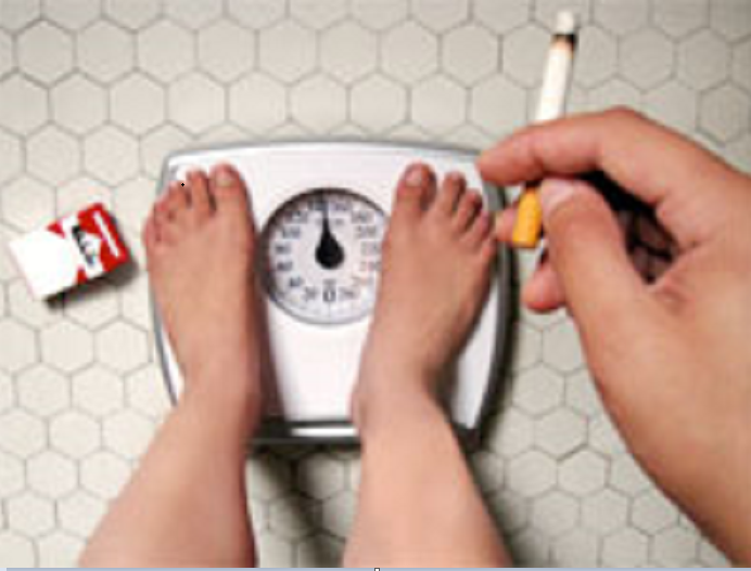 Quit smoking and maintain the same body weight