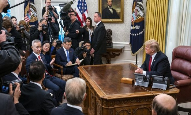 China hails 'important progress' in US trade talks