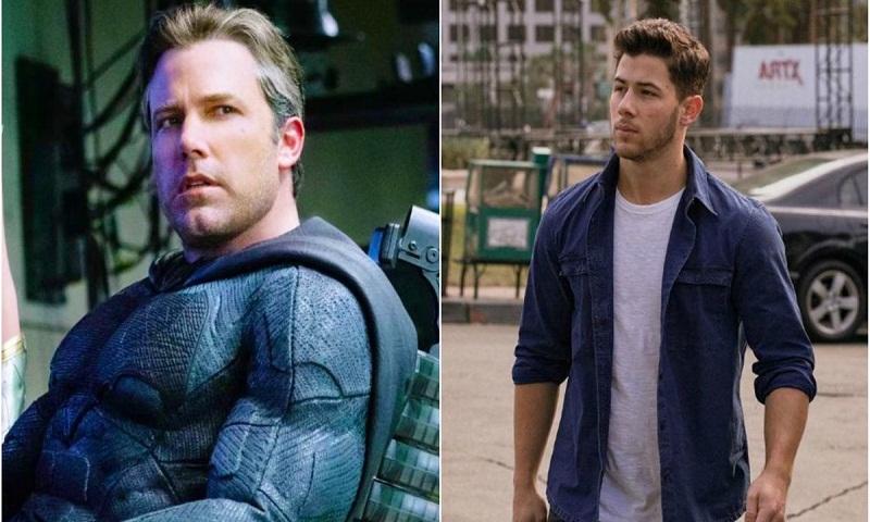 Nick Jonas offers to replace Ben Affleck as Batman