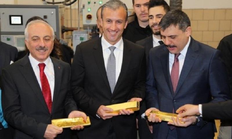 Turkey warned over Venezuela gold trade
