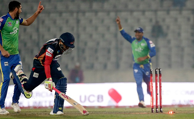 Rampant Sixers end BPL with win over Vikings