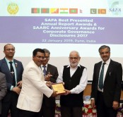 BAT Bangladesh receives an international award for corporate governance excellence