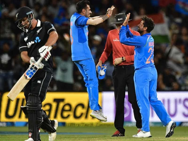 India beat New Zealand by 35 runs to claim 4-1 series win