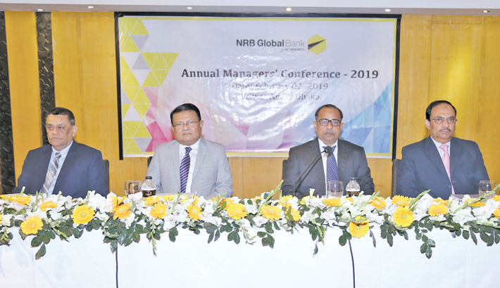 NRB Global Bank holds annual  managers' confce