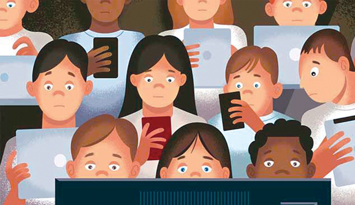 Positive and negative effects of  electronic gadgets to students