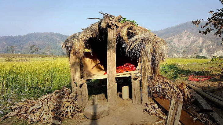 Nepali women dies in outlawed 'menstruation hut'