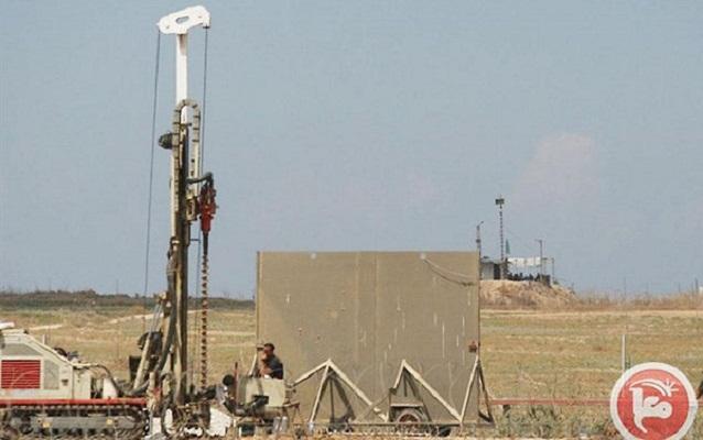 Israel begins new Gaza border barrier construction