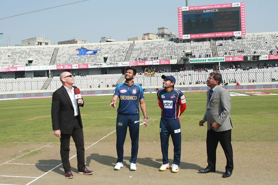 Chittagong Vikings bat first against Dhaka Dynamites in Eliminator