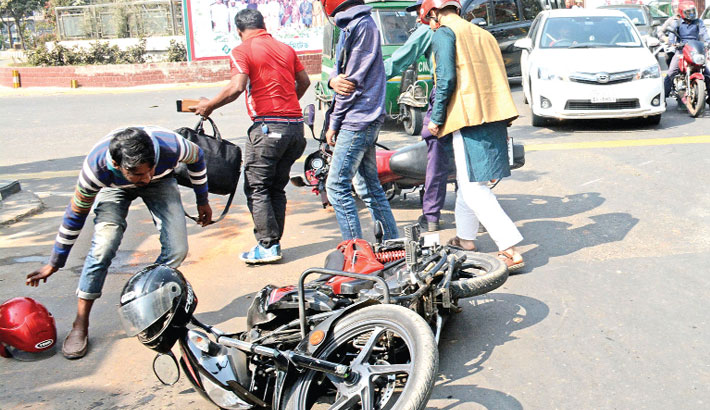 Bikers careless about traffic rules