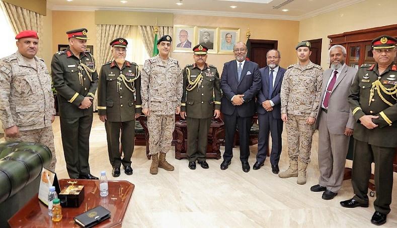 Bangladesh, KSA to sign defence deal February 14