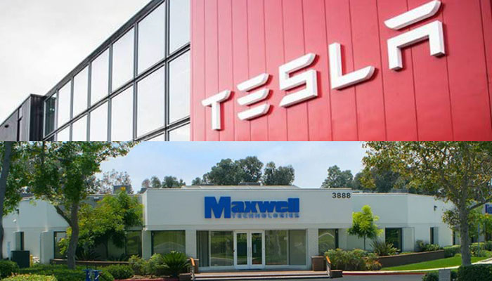 Tesla to buy battery tech firm Maxwell