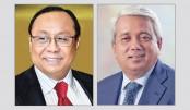 Bashundhara Group chairman felicitates LOAB president