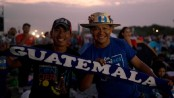 25,000 bikers set out for Guatemala shrine