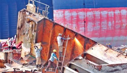 Bangladesh top destination for scrap ships