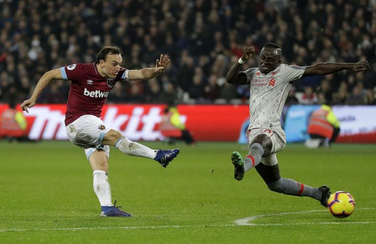 Liverpool held by West Ham as title challenge falters again