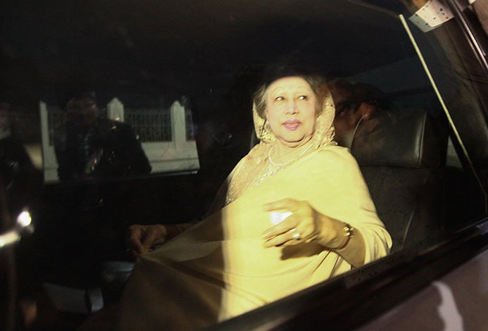 Khaleda's bail in defamation cases extended