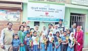 Student council election held at Educo Pathshala