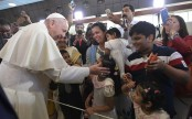 Catholics in UAE greet pope with cheers and tears
