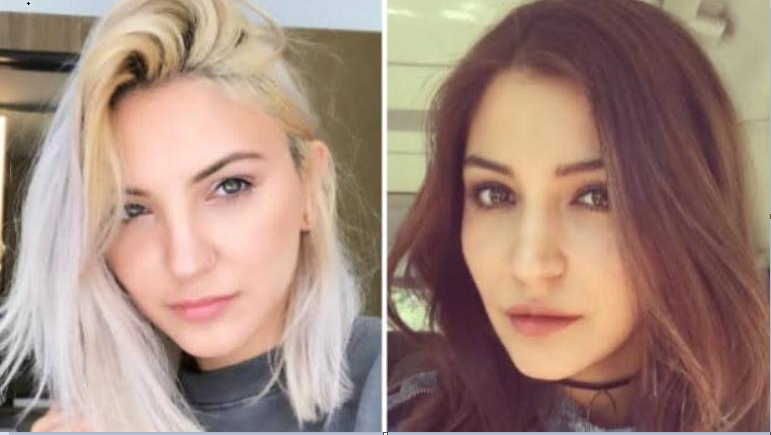 Anushka Sharma and Julia Michael look like twin sister