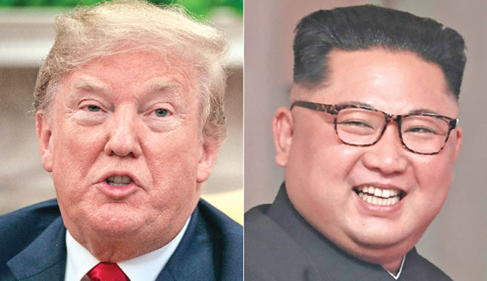 From Twitter hate to 2nd date: Trump, Kim in quotes