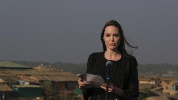 Jolie seeks sustained global support for Rohingyas