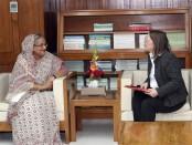 French premier congratulates Sheikh Hasina