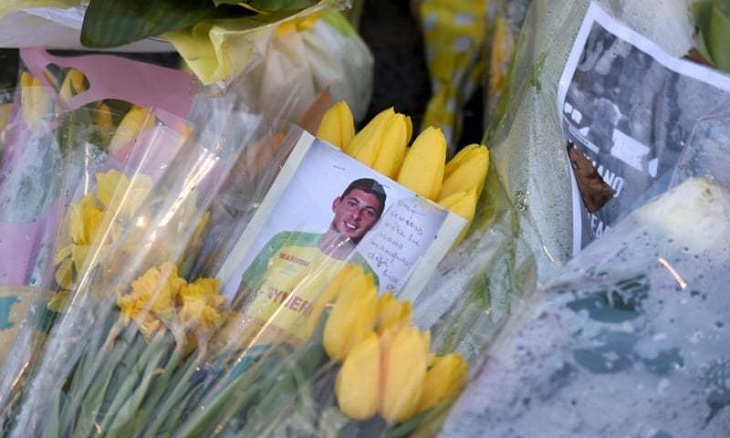 Family mourn Sala after body in Channel wreckage identified