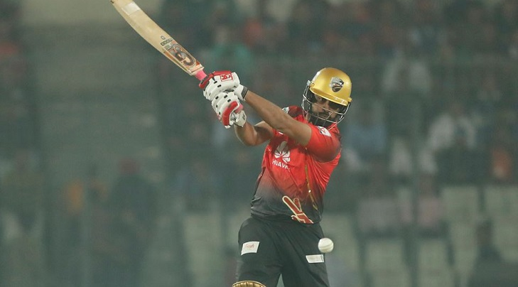 Tamim's ton anchors Comilla to 199 against Dhaka