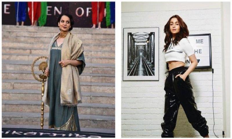 Kangana Ranaut calls Alia Bhatt, tells her to grow a spine