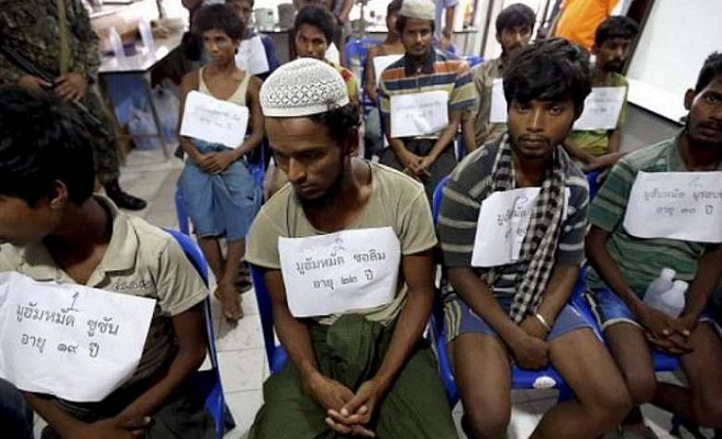 28 Rohingyas rescued while being trafficked to Malaysia