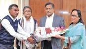 Members of Bangladesh Television (BTV)