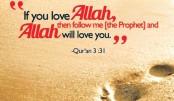 Loving Allah and His  Messenger (pbuh)