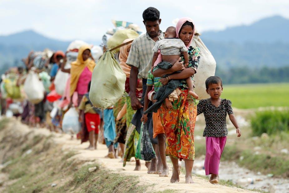 "Dhaka wants ""safe haven"" for Rohingyas in Myanmar's Rakhine state"