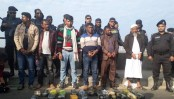 3 held with 2.5 lakh Yaba from Chattogram picnic bus