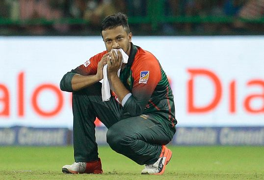 Fractured finger rules Shakib out of ODI series in New Zealand