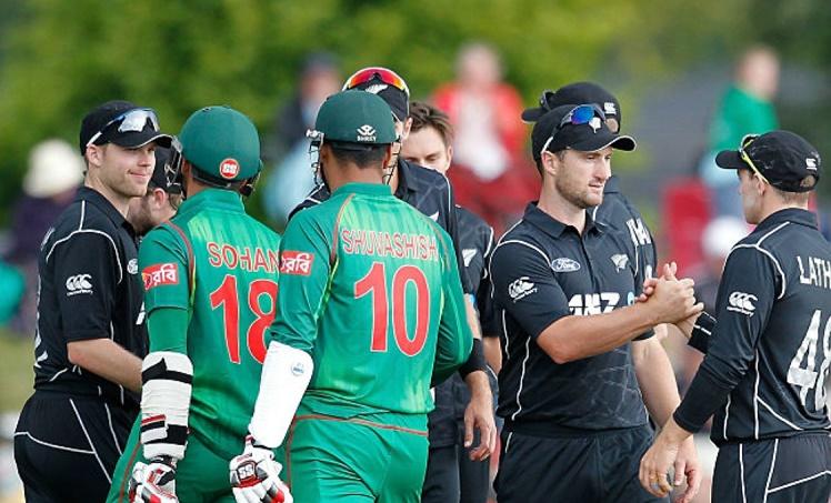 Bangladesh begin New Zealand tour with a loss