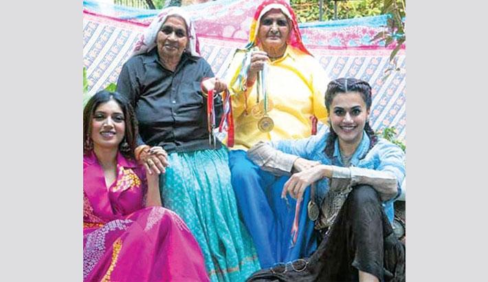 Shooting of Taapsee, Bhumi's  'Saand Ki Aankh' begins