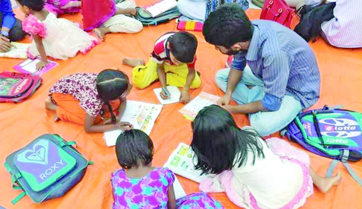 Spreading light of  education in coastal areas