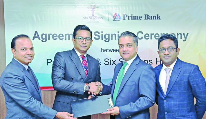 Prime Bank signs deal with Six  Seasons Hotel
