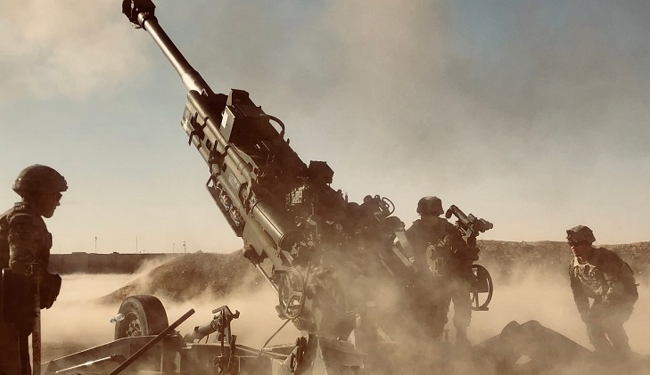 French guns on Iraq border aim to pin down IS diehards inside Syria