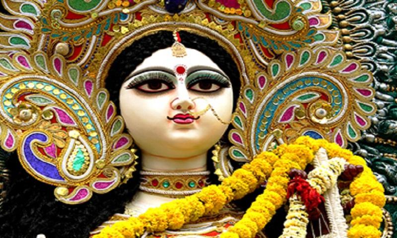 Saraswati Puja being celebrated