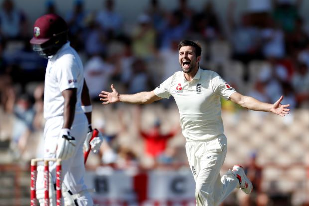 Five-wicket Wood sends Windies crashing to 154 all out