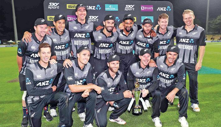 New Zealand  claim India T20 series