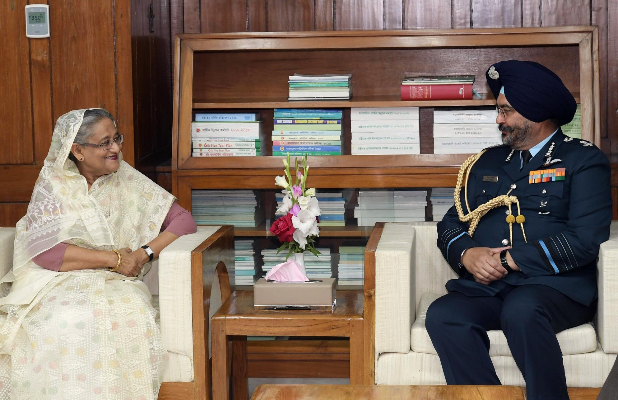 Indian air chief wants air forces of Bangladesh,India to work together