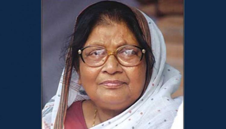 Sajeda Chowdhury appointed as deputy leader of parliament