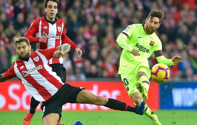 Barca give fresh hope to La Liga rivals after Bilbao draw