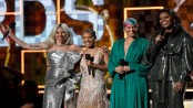 Lady Gaga wins 3 Grammys, Michelle Obama makes appearance