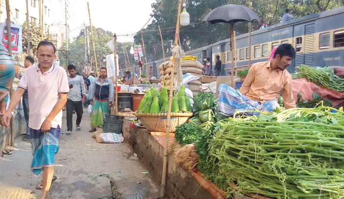 Accident risks down as rail track encroachers evicted